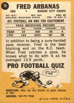 Kansas City Chiefs Football, Trading Card Database, Football Cards, Soccer Cards