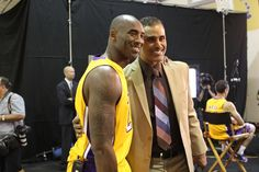 Lakers Media Day 2013 : The Fox and the foxy!
