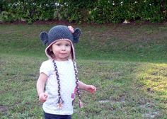 Crochet Animal Hats Baby Girl Hat Crochet by LittleMommaBoutique, $22.00