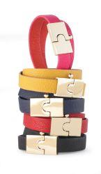 Red and Navy Lock Wrap Bracelet  | Fashion | Mud Pie,