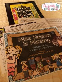 Fluttering Through First Grade: Miss Nelson is Missing and So Are We!
