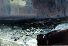 """""""Approach of Rain,"""" George Wesley Bellows, 1913"""