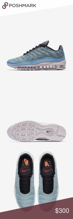 Nike Air max 97 I bought these today Nd they are now sold out. They will be delivered to me on either feb 23-24. I will ship them out to you double boxed. They will be in the original Nike box. Nike Shoes Sneakers