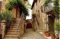 Улочки итальянской Тосканы!