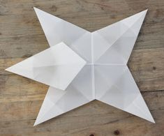 Idas Bloghaus: Basteln mit Kindern: Faltsterne aus Architektenpapier Christmas Crafts For Kids, Diys, Stars, Blog, Home Decor, Design, Origami Stars, Xmas, Bricolage