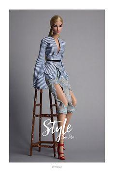 Style | Elise Jolie | by ATTHANIJ