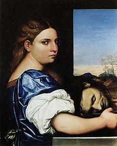 Judith 1510 Sébastiano Del Piombo. LDN . NG