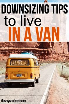 Want to live in a van but don't know where to start with downsizing? Check out these tips to becoming minimalist. Want to live in a van but don't know where to start with downsizing? Check out these tips to becoming minimalist. Bus Life, Camper Life, Diy Camper, Life Hacks, Life Tips, Downsizing Tips, Becoming Minimalist, Van Living, Living In A Camper