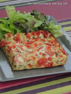 J'ai un paquet de recettes en retard mais celle-ci, avec les beaux jours qui arrivent a tout à fait sa place ici. Une idée toute simple avec la tomate et parfait pour toute la famille, accompagné d'une belle salade verte (d'après une idée trouvée sur...