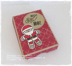 Nikolaus-Verpackung mit Ideen zum Inhalt und mit Anleitung