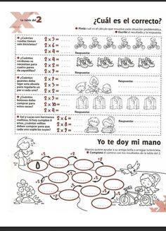Las Tablas de Multiplicar Ejercicios - http://materialdidactico.org/las-tablas-de-multiplicar-ejercicios/