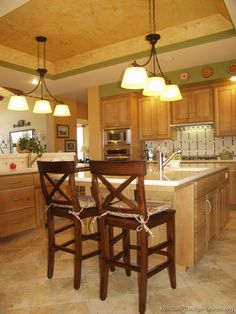 #Kitchen Idea of the Day: Arts & Crafts Kitchens.