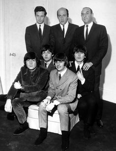 Is it just me, or every time you see Brian with the Beatles, do you think he's just there to keep John in line?