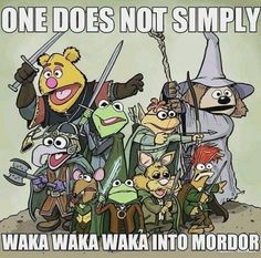 Lord of the Rings humor!