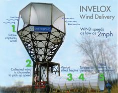 Funny Looking Tower Generates 600% More Electrical Energy Than Traditional Wind Turbines  This should apply to all places to live that are stationary. #AlternativeHomeEnergy
