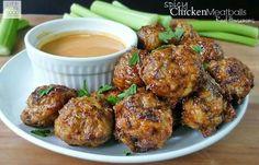 Spicy chicken meatballs