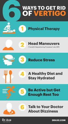 Six secrets on how to get rid of vertigo - Dr. Axe http://www.draxe.com #health #holistic #natural