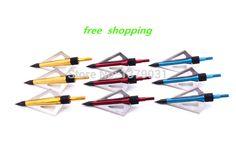 30/pcs  H701 2014 Brand New 3-blades Aftershock Maniac Sharp Hunting Hunter Shooting Bow Arrow Broadheads High Quality #Affiliate