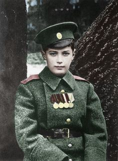 Alexis Romanov in uniform---when he was murdered he was thirteen, just two weeks from his 14th  birthday