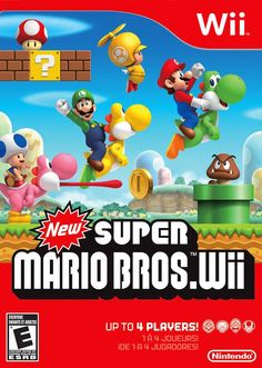 New Super Mario Bros. Wii: http://www.metacritic.com/game/wii/new-super-mario-bros-wii
