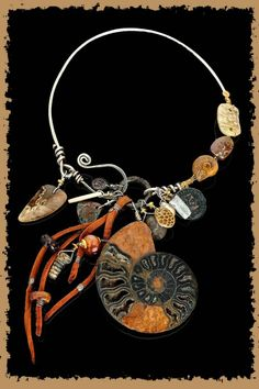 Necklace by Allison  Bellows