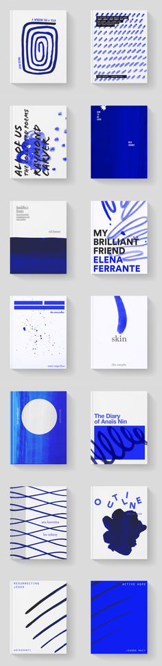 Book cover series in Book design