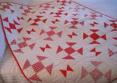 Shoo Fly quilt by PamKittyMorning, via Flickr