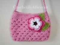 the types of designer purses available online Crochet Handbags, Crochet Purses, Crochet Yarn, Free Crochet, Crochet Flower Patterns, Crochet Stitches Patterns, Spring Nail Colors, Spring Nails, Crochet Shoulder Bags