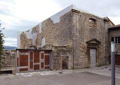2tr architettura — Restauro della ex chiesa S. Antonio e degli orti del convento delle Clarisse a Santa Fiora