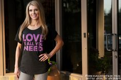This Firedaughter 'Love is all you need' tee says it all! #scottsdalejeanco #sjc #firedaughterclothing #firedaughter #loveisallyouneed