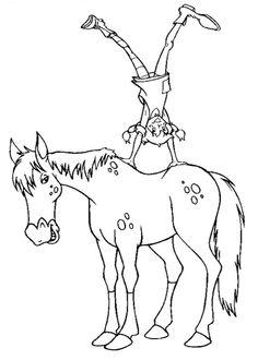 In questa pagina trovate 26 disegni di Pippi Calzelunghe pronti da colorare: vi…