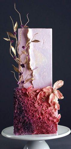 Glamorous Wedding Cakes, Fall Wedding Cakes, Wedding Cakes With Flowers, Fall Wedding Colors, Beautiful Wedding Cakes, Wedding Cake Designs, Beautiful Cakes, Autumn Wedding, Wedding Themes