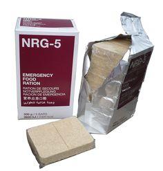 NRG-5 Notration - die universalste und günstigste Notnahrung auf dem Markt. Ideal für den Outdoorbereich und für die Krisenvorsorge.