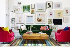 Home Decor Inspiration How to hang a perfect Gallery Wall