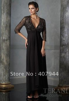sexy mother of the bride dresses   Hot sell chiffon and beading mother of the bride dress / Evening Dress ...