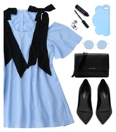 Perfect dress by Zaful 57 by deeyanago on Polyvore featuring polyvore fashion style Yves Saint Laurent Michael Kors STELLA McCARTNEY Bobbi Brown Cosmetics clothing