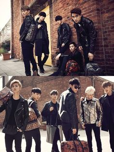 """MCM Worldwide releases photos from """"A/W 2014"""" collection ft. EXO 