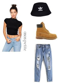 """Adidas"" by napoleon16 on Polyvore featuring ASOS, adidas Originals and Timberland"