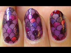 Too cool.  I never knew it was so easy to make your own nail strips.