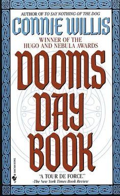 Doomsday Book by Connie Willis,http://www.amazon.com/dp/0553562738/ref=cm_sw_r_pi_dp_rtscsb17MYY8YMZD
