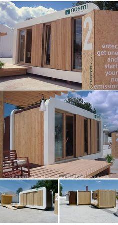 ThinkCO2 es una empresa que produce casas prefabricadas en España, su modelo de éxito se llama NOEM, y es un sistema modular de escasa huella de carbono.