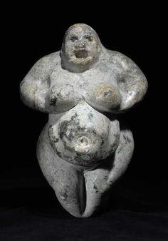 Neolithic Fertility Goddess   Origin: Anatolia   Circa: 6000BC to 4000BC