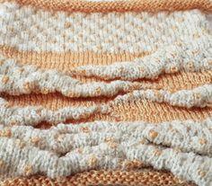 Partial knitting with Tucks, Manual knitting machine, https://tanitusha.wix.com/tatiana-elkind