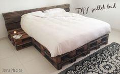 diy+pallet+bed | DIY-pallet-pallets-meubels-furniture-bed-palletbed-zelfmaken-creatief ...