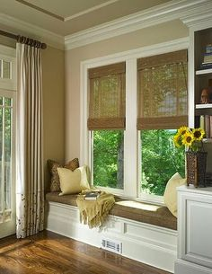 Our French Mattress Style Window Seat Cushion Window Seat Cushions And Seat Cushions