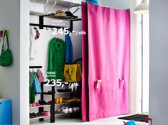 5 Smooth Tips: Simple Curtains Bedroom short curtains behind bed.Burlap Curtains With Stars simple curtains bedroom.How To Hang Ikea Curtains. Ikea Curtains, Closet Curtains, Short Curtains, Yellow Curtains, Floral Curtains, Curtains Living, Colorful Curtains, Roman Curtains, Layered Curtains