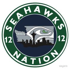SEAHAWKS NATION (LOUD & PROUD) AMAZING! I LOVE THIS. 12th man, 12th woman, loud and proud, bad 2 back Superbowl GO SEATTLE!