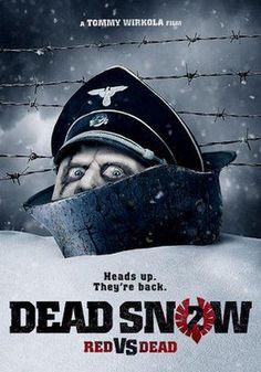 #TommyWirkola's hilarious, madly gruesome #DeadSnow2 with Nazi & Soviet #Zombies on #Netflix