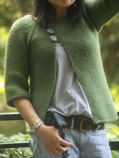 Ravelry: Lolliblog's Garter Stitch Swingy Sweater. Free  Know only if I knew someone who could knit this for me.