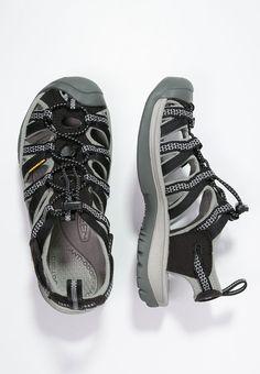 WHISPER - Sandali da trekking - black neutral gray 475fbf3f745